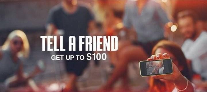 Friend Referral bonus