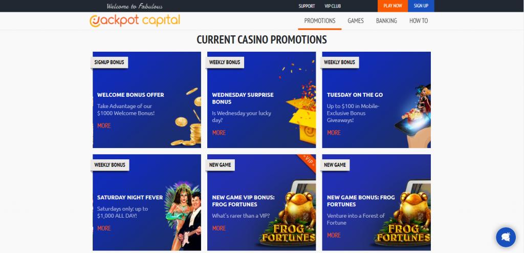Current Casino Promotions