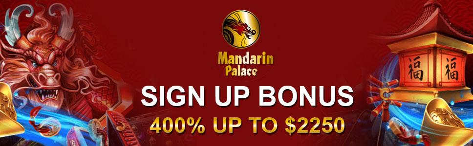 Sign up bonus offer